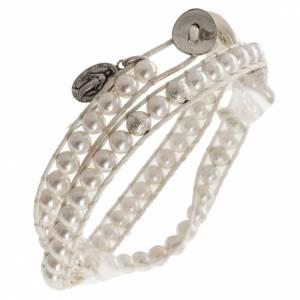 Bracelet chapelet en nacre 6mm s1