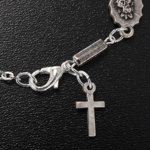 Bracelet dizainier Ghirelli Notre Dame de Lourdes 6x8mm s3