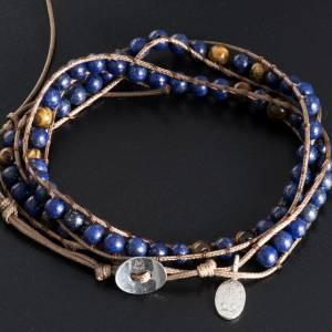 Bracelet religieux lapis-lazuli 6mm s3