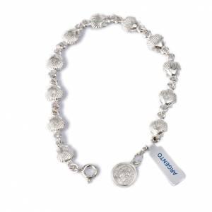Bracelets en argent: Bracelet St Jacques de Compostelle argent 800