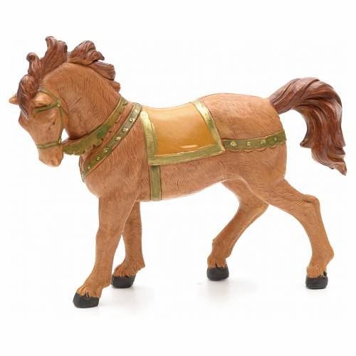 Brown horse 12cm by Fontanini s3