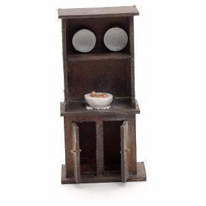 Crèche Napolitaine: Buffet en miniature crèche Napolitaine 12 cm
