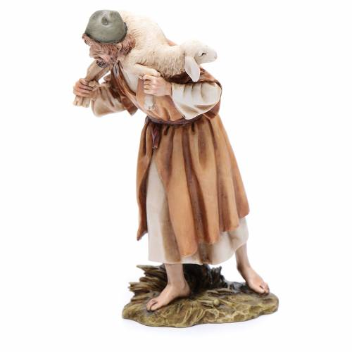 Buon pastore 15 cm resina Moranduzzo s2
