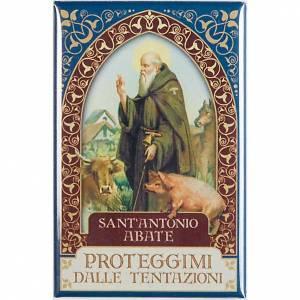 Magnete  Sant' Antonio Abate oro s1