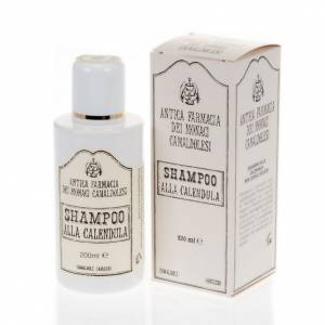 Natural shampoos, shower gels, soaps and toothpastes: Camaldoli Calendula Shampoo (200 ml)