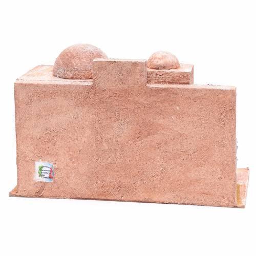 Capanna di stile arabo con porticato 20x35x20 cm s4
