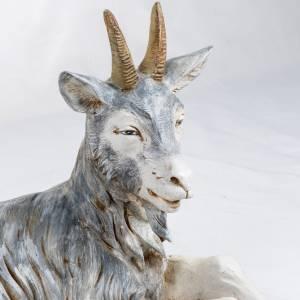 Animali presepe: Capra seduta 125 cm presepe Fontanini