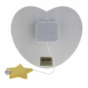 Carillon cuore angelo stella celeste Azur Loppiano s3
