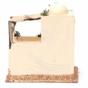 Casa araba in legno per presepe assortita 20x15x10 cm s4