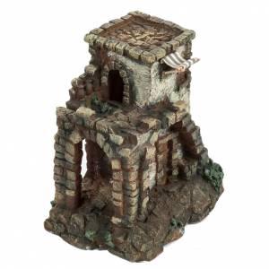 Casetta con scala per villaggio Fontanini cm 6.5 s3