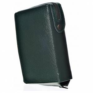 Catholic Bible covers: Catholic Bible Anglicized cover, green bonded leather
