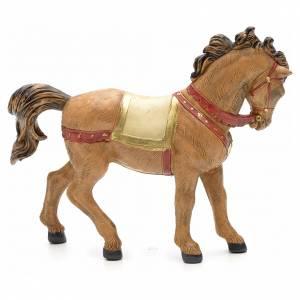Cavallo criniera nera 12 cm Fontanini s4
