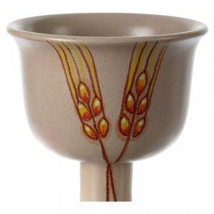 Ceramics Chalices Ciborium and Patens: Ceramic chalice with spikes