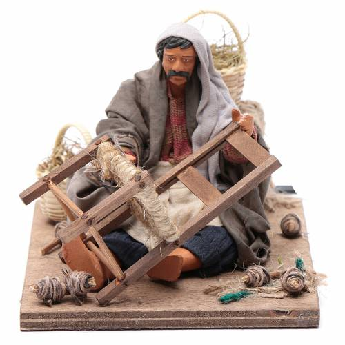 Chair fixer 14cm neapolitan animated Nativity s1