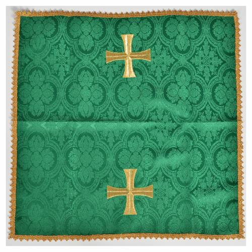 Chalice cover with golden cross s2