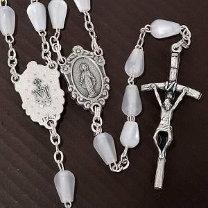 Chapelets perles d'imitation: Chapelet avec nacres, goutte