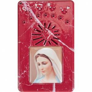 Chapelet digital avec prière de la divine miséricorde bleu s6