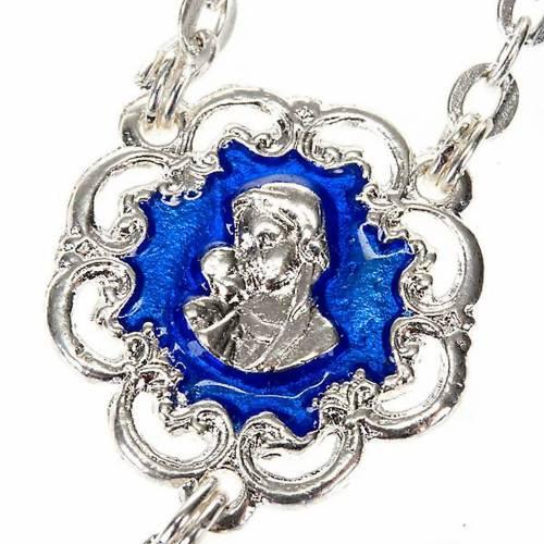 Chapelet Ghirelli en bleu et argent s3