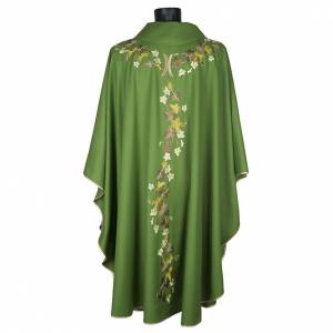 Chasuble and stole, ivy and pelican s11