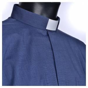 Chemises Clergyman: STOCK Chemise clergy m.longues popeline bleu