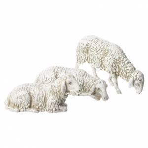 Chèvre chien et brebis crèche Moranduzzo 10cm, 8 pcs s2