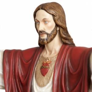 Christ rédempteur 200 cm fibre de verre s9
