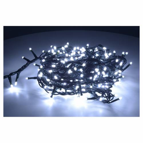 Christmas lights 300 mini lights, ice white, for indoor use s2