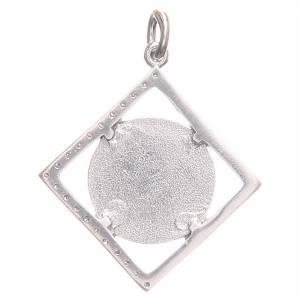 Ciondolo argento 800 Croce San Benedetto 1,6x1,6 cm s2