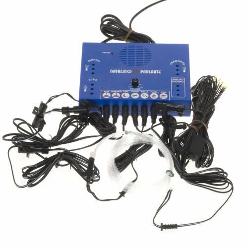 Natalino parlante: gestion de efectos-sonidos FRISALIGHT s2