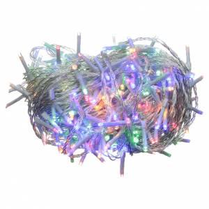 Éclairage Noël chaîne 240 LEDS multicolores EXTÉRIEUR piles programmable s1