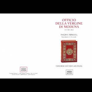 Santa Caterina d'Alessandria codice miniato s4