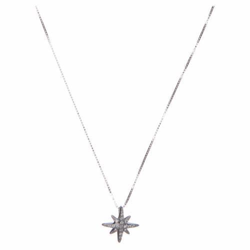 Collana Amen Argento pendente Croce del Sud s1