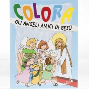 Libri per bambini e ragazzi: Colora gli angeli amici di Gesù