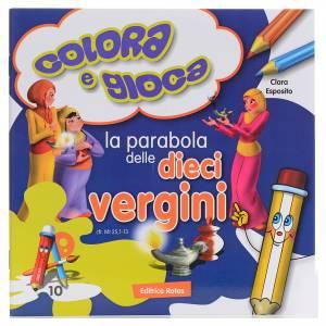Libri per bambini e ragazzi: Colora la parabola delle dieci vergini