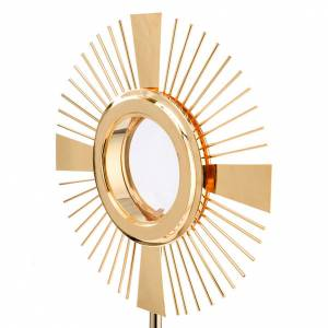 Concelebrating host monstrance classic style s5