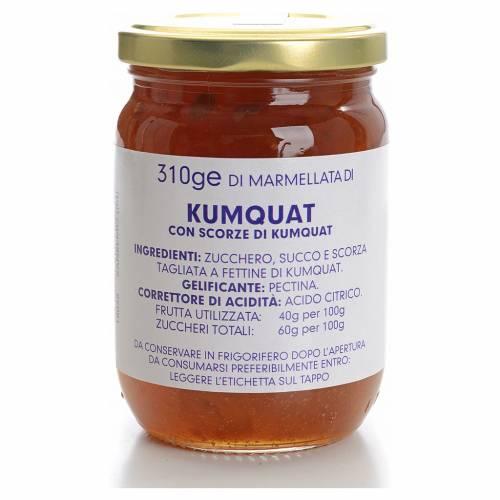 Confiture de kumquat 310 g Carmélites s1