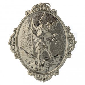 Confraternity Medal in brass, Saint Michael s2