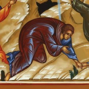 Ícono de la Transfiguración de Jesús 22x27 s2