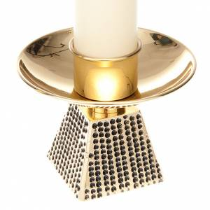 Coppia candelieri base quadrata s4