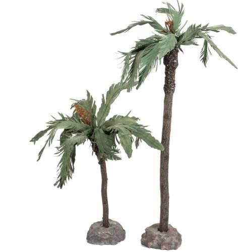 Coppia palme presepe Fontanini villaggio cm 12 s2