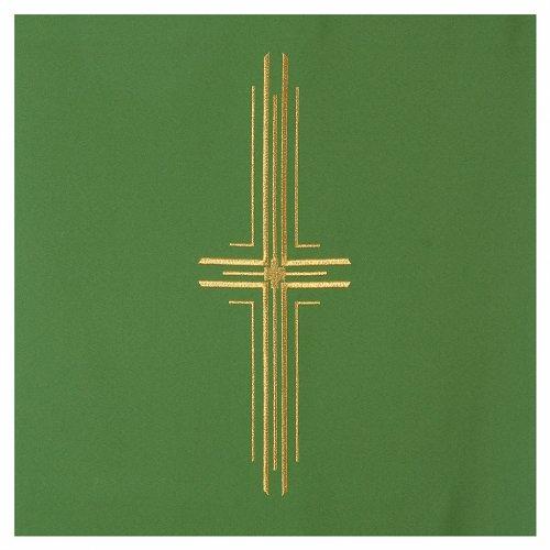 Coprileggio 100% poliestere croce stilizzata s6