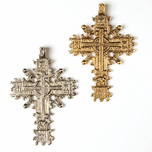 Copta pendant cross s1