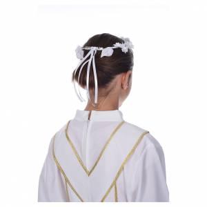 Vestidos comunión: Corona floral para primera comunión
