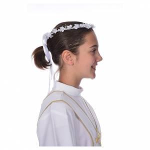 Corona floral para vestido de la Primera Comunión s2