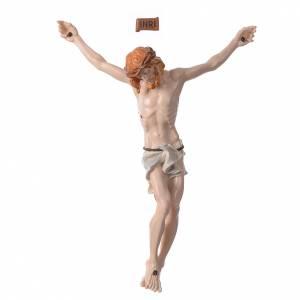 Statue in polvere di marmo di Carrara: Corpo di Cristo in polvere di marmo dipinto a mano