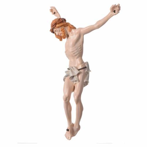 Corpo di Cristo in polvere di marmo dipinto a mano s2