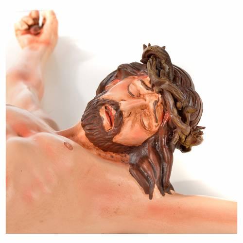Corps du Christ terre cuite h 45 cm style Napolitain s5