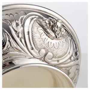 Coupe de communion argent 800 décor ange s3