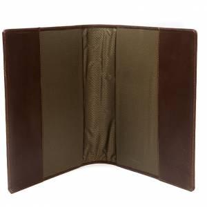 Couverture lectionnaire, cuir, Christ s4