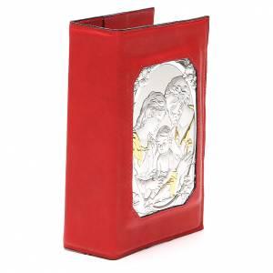 Couverture Lit. 4 vol. aimantée Ste Famille métal rouge s4